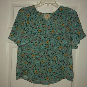Wishful Park flowy top